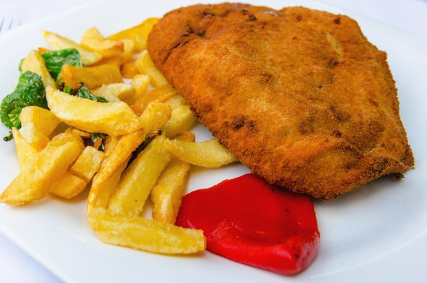 Cachopo a gooey meat feast from asturias spain julian for Asturian cuisine