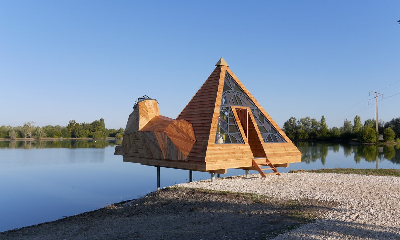 Bordeaux's free holiday cabins: basic but still beautiful