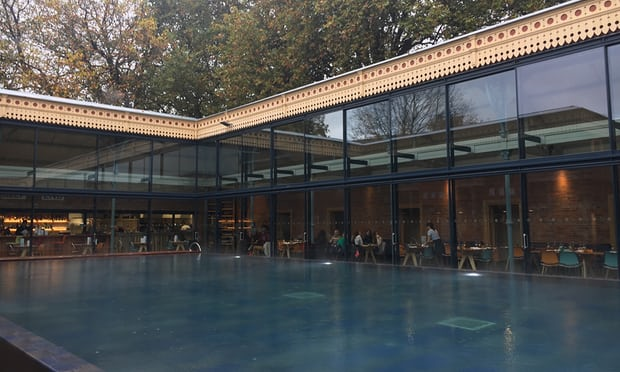'I feel like I'm in a different time': Thames Lido review