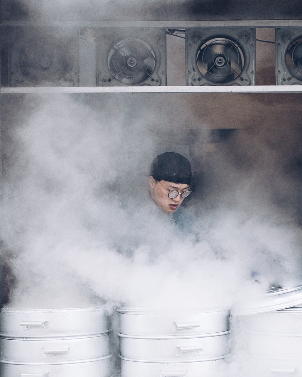 Letting off steam: South Korea's street food vendors – in pictures
