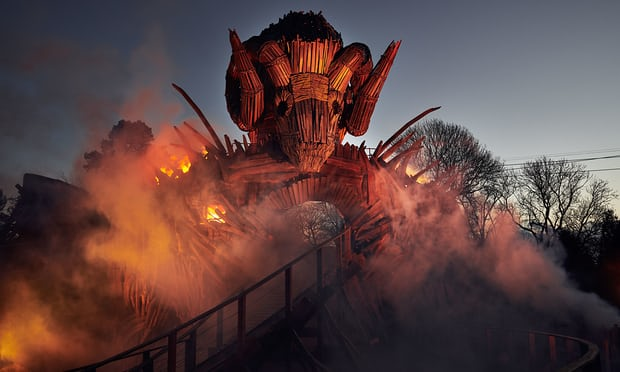 Pagan ritual: riding Alton Towers' new Wicker Man rollercoaster