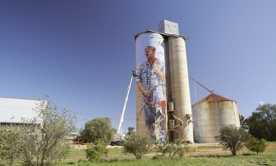 Australia's largest outdoor gallery: the Silo Art Trail, Victoria