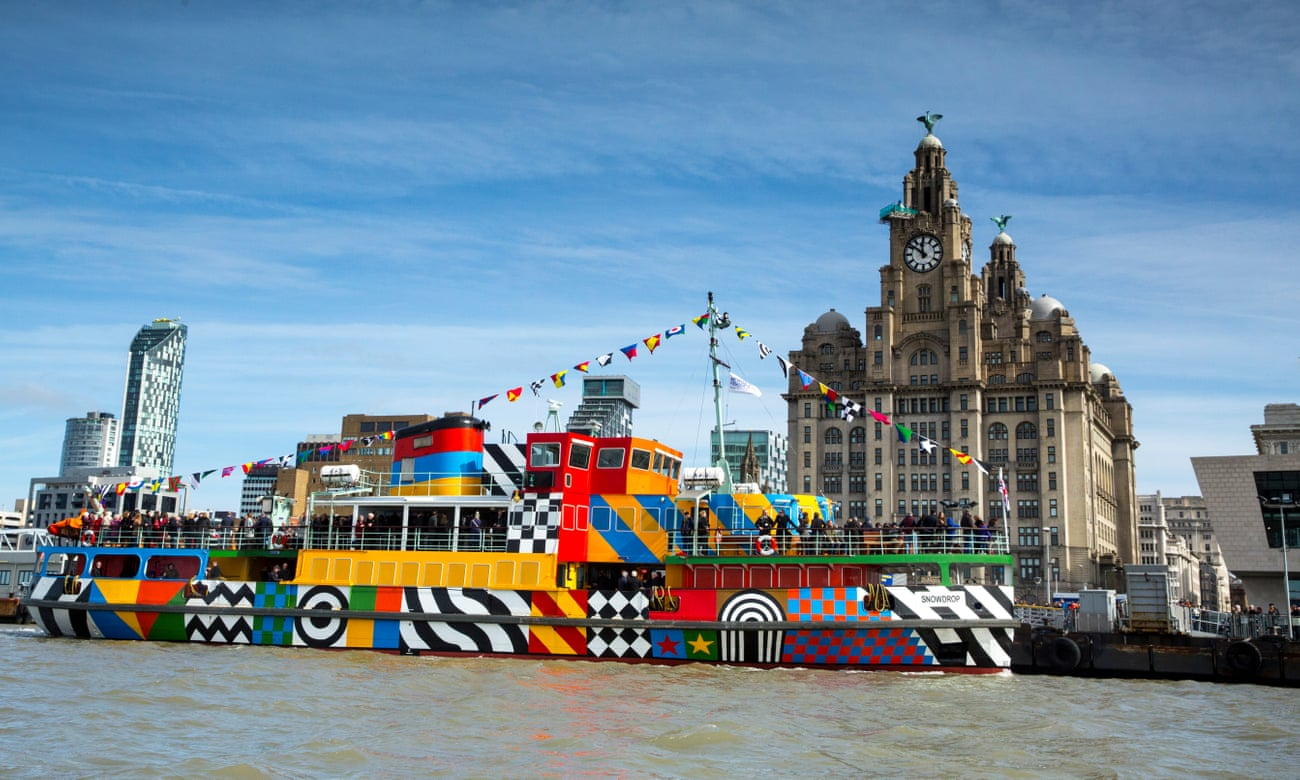 On the Mersey beat: a walking tour of Liverpool