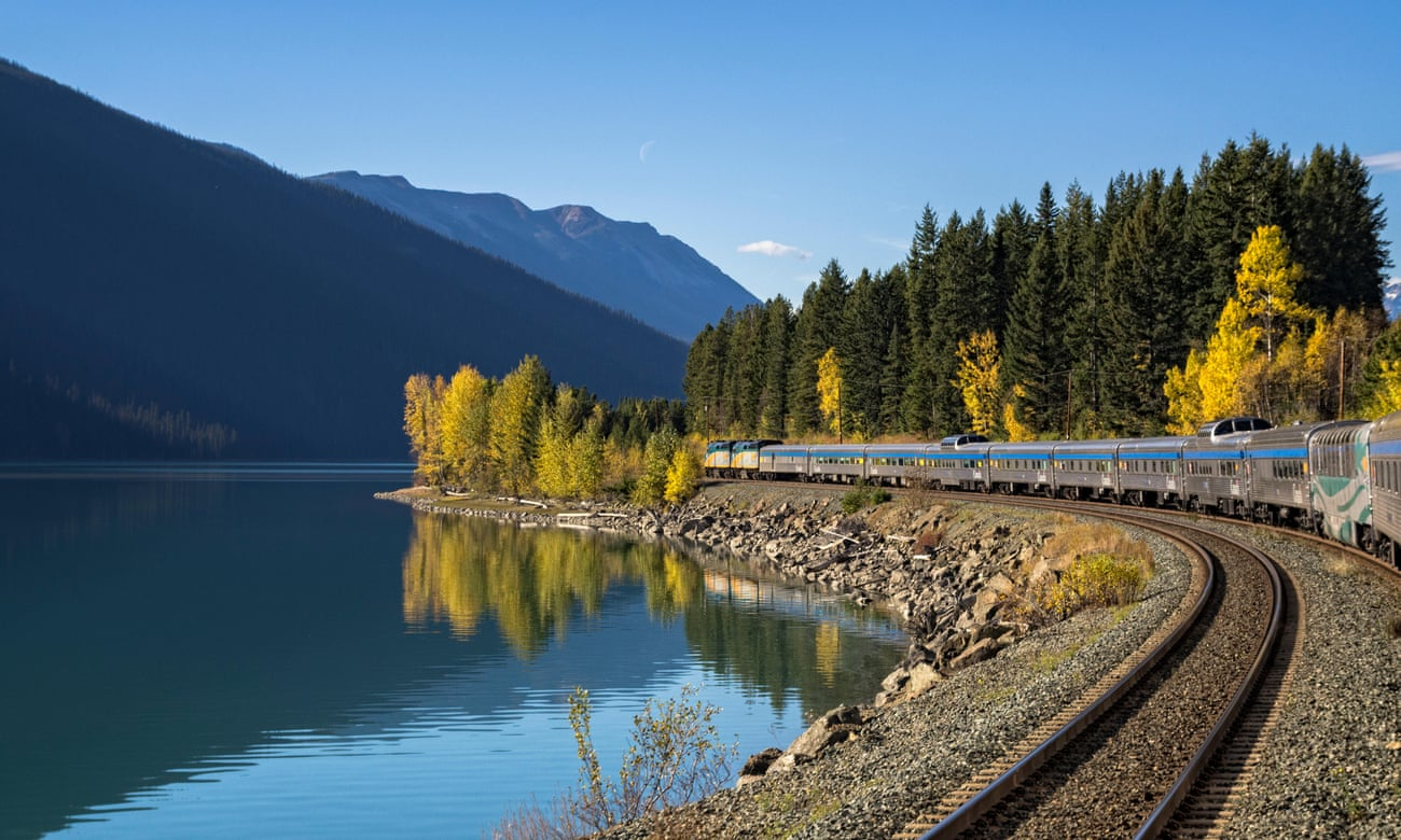 Riding Canada's Skeena train: from Jasper to the Pacific