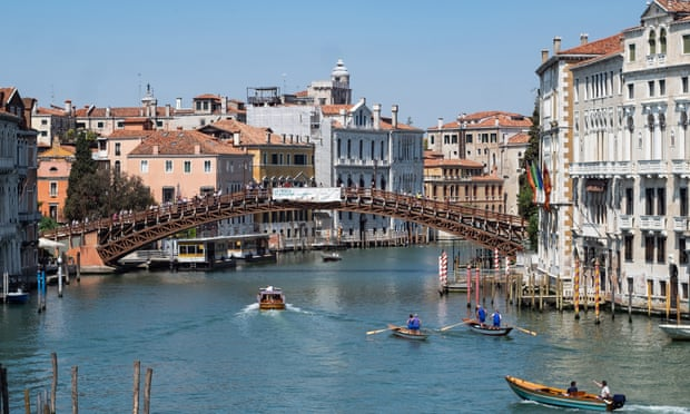 'It's an exciting beginning': Venice opens to tourists