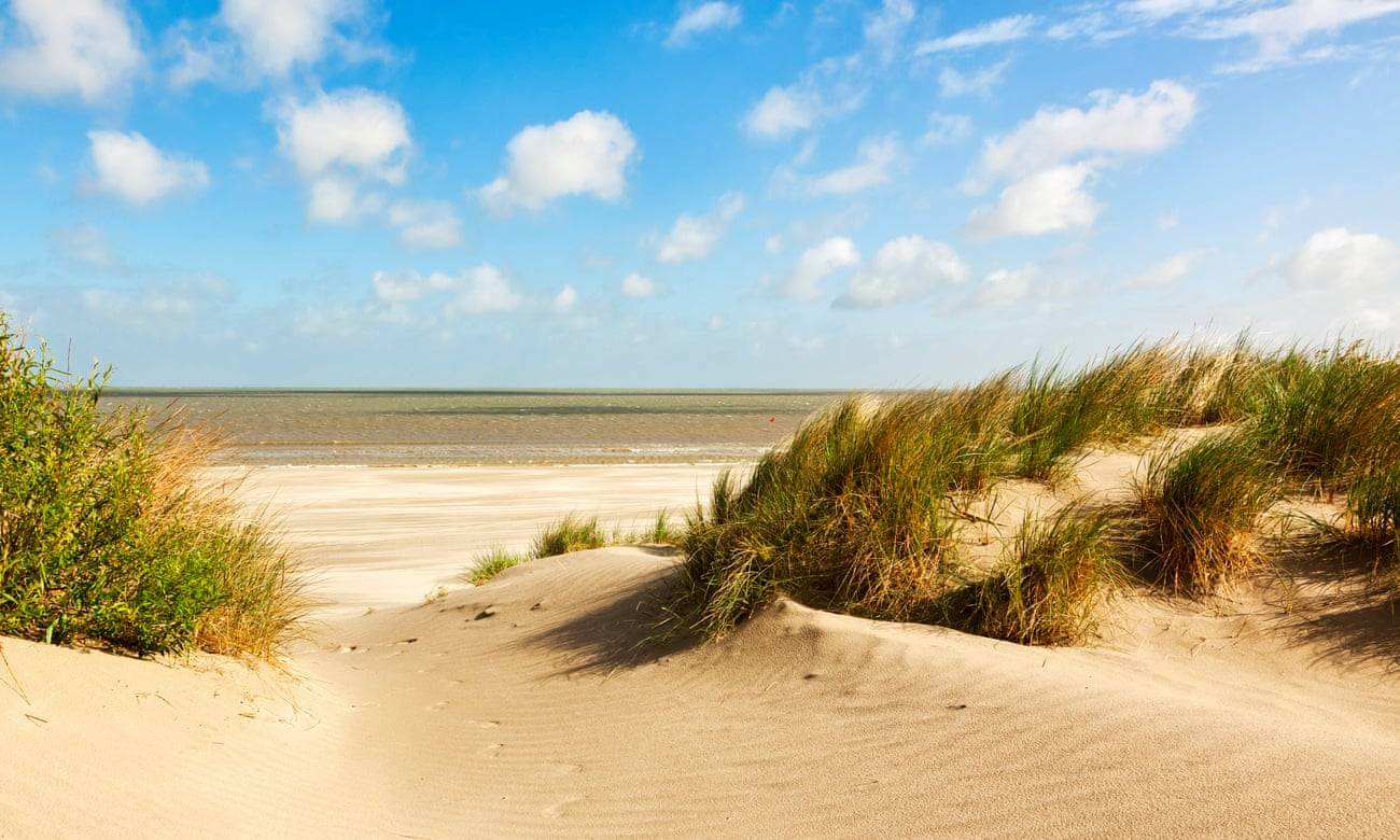 Endless dunes and beach cabanas – that's summer on Belgium's coast
