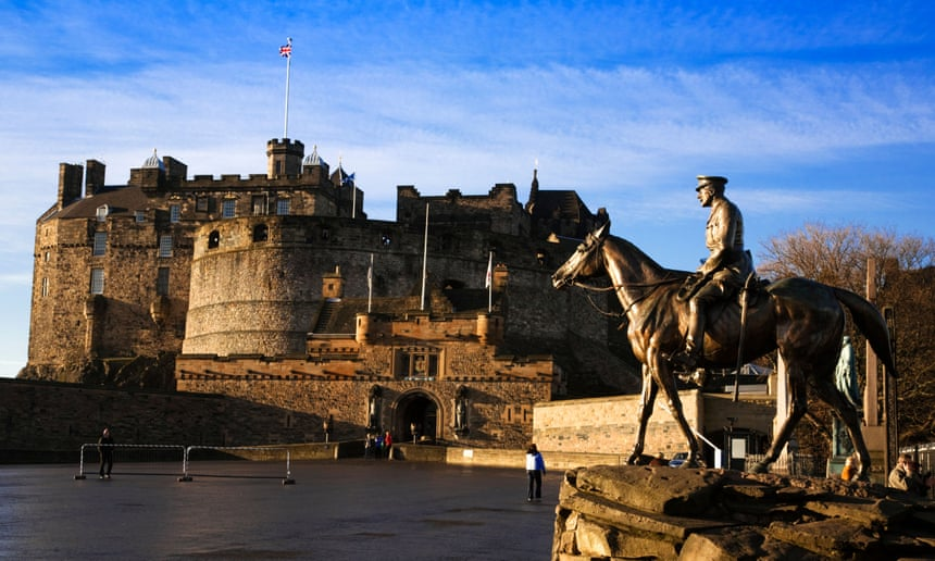'With Edinburgh empty, we're seeing our city through tourists' eyes'