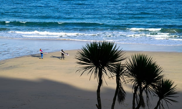 Cornwall gears up to cash in as Covid rules threaten foreign trips