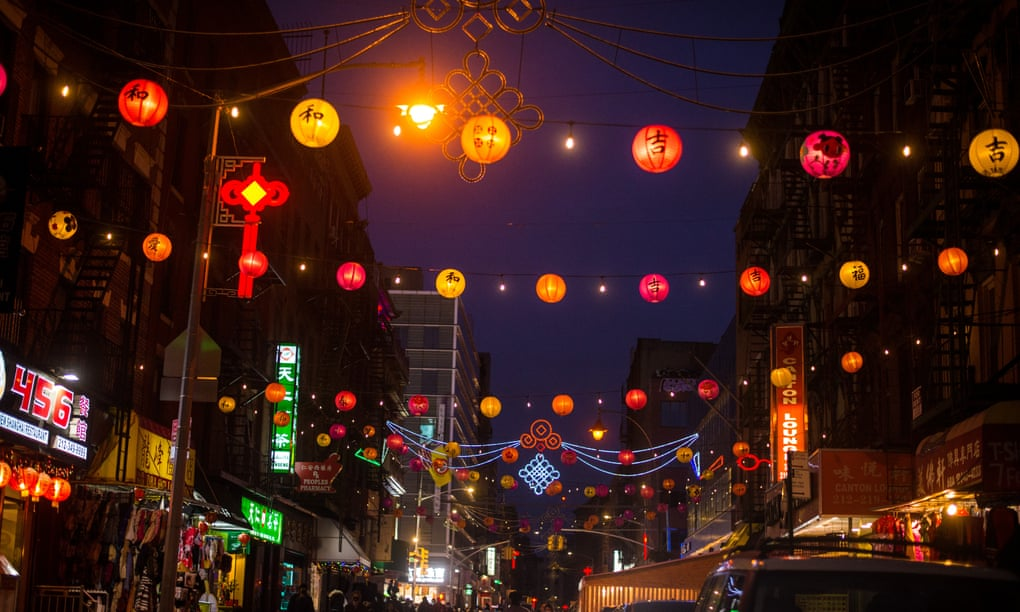 New York's Chinatown pulls together to brighten the Covid darkness