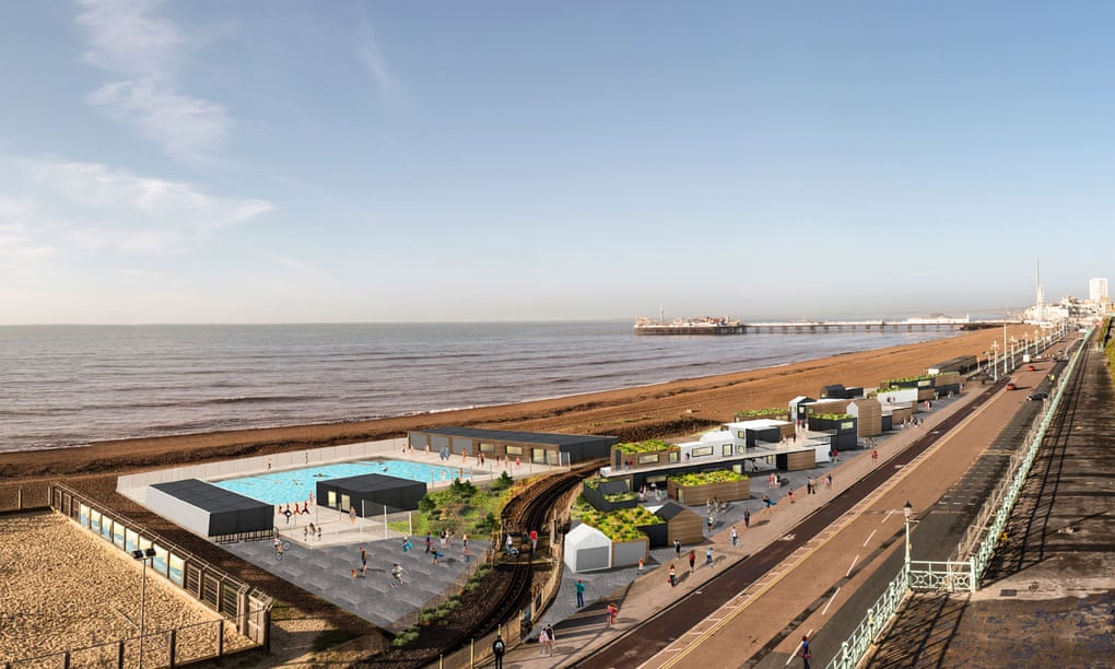 Brighton to get new outdoor swimming pool as part of seafront regeneration