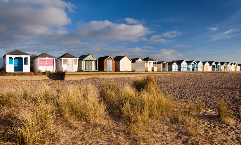 Sun, sea and perfect crowd-free sands on the Lincolnshire coast