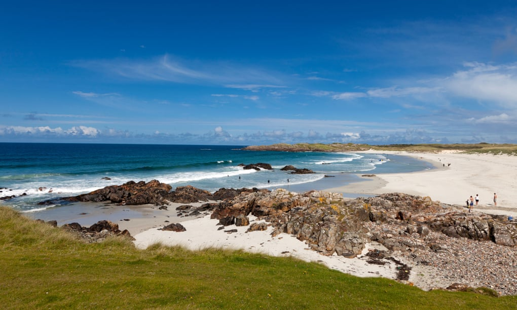Sealife and surfing in Scotland: the wide-open spaces of Tiree